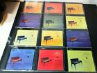 12 CDs  Bach, CPE The Solo Keyboard Music Vol 1-13 ~ # 8 is Missing   Very Good