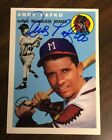 Andy Pafko Cards and Autograph Memorabilia Guide 45
