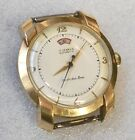Vintage LeCoultre Power Reserve WristWatch Bumper Wind Automatic 10k Gold Filled