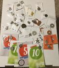 Lot of 32 Weight Watchers WW NEW weight loss charms pins mostly new