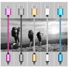 Braided Micro USB Data Sync Charger Cable Cord For Android Phones For Samsung