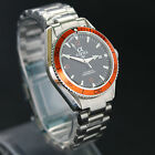 Alpha men's mechanical automatic watch Japan Miyota movement Orange Bezel