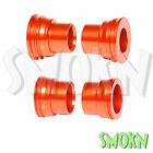 RFX F&R Wheel Spacers fit KTM 250 350 400 450 525 530 EXC-F 03-15 Orange