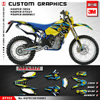 Husaberg FE FS FC 400 450 501 550 650 MX Graphics Kit 2001 2002 2003 2004 2005