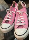 Pink CONVERSE Chuck Taylor ALL STAR lo OX SNEAKERS shoes Uni Sex M 55 W 75