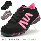 Girls Casual Sneaker Athletic Tennis Shoes Walking Running Lace Up Suede Kids
