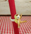 Rare Vintage 1958 Holt Howard Yellow Bird Candle Climber Ring