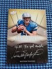 Matthew Stafford 2009 Exquisite Remarkable Signatures 3 5 *RARE* 4.81 40 yd dash