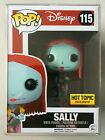 Funko Pop Hot Topic Exclusive SALLY with Rose Nightmare Before Christmas NBX