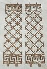 Decorative cast iron panels for security door/gate or artwork for cafe/bar/home