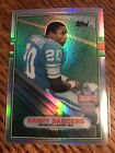 2001 BARRY SANDERS TOPPS ARCHIVES REFRACTOR MISSING AUTOGRAPH SP AUTO ERROR CARD