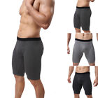 Breathable Men's pants Cotton Blends Black Dark Gray underwear Trunks Casual