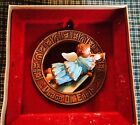 1977 Hallmark Tree Trimmer Collection Ornament Angel Peace On Earth