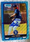 2012 Bowman Baseball Blue Wave Refractor Autographs Are Red-Hot 45