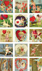 15 SMALL VALENTINES DAY LOVE CHERUBS HANG GIFT TAGS FOR SCRAPBOOK PAGES 44