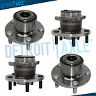 2004 2005 Mazda 3 Non ABS Front Rear Left  Right Wheel and Bearing Hub Assy
