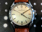 Vintage Eterna matic men's wristwatch Tropical Dial Runs Solid stainless steel
