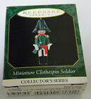 1999 Hallmark Clothespin Soldier miniature ornament 5th in the series