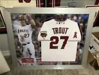 Mike Trout Signed 2014 All Star Game MVP Jersey MLB Holo Framed