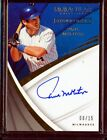 2018 Immaculate Collection Signatures Paul Molitor Auto Autograph 08 15
