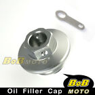 CNC Engine Titanium Oil Filler Cap For HONDA CRM250R/AR 1989-1998 90 91 92 93 94