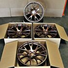 Fits Dodge Magnum Charger Challenger 20 Hellcat Style Wheels Matte Bronze Rims