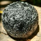 Natural Rare Black Indochinite TEKTITE Spashform Shambala Synergy Thailand Stone