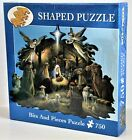 Bits  Pieces 750 Piece Shaped Puzzle Nativity Scene 18 0651 2003 In The Manger