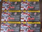 Factory Sealed 6 Box Lot - 2015 Upper Deck CFL Football Cards