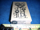 NEW RUBBER STAMP SUN FLOWERS HOOKS LINES INKERS