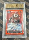 Todd Gurley 2015 Bowman Chrome Red Wave Rookie Refractor Auto 25 BGS 9.5 Rams