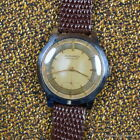 MOVADO 1950s STAINLESS STEEL Ref 19491 345MM BUMPER AUTOMATIC Cal 115 PATINA
