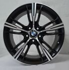 Set of 4 Wheels 18 inch MATT BLACK Rims fits BMW 328is 1996 1998