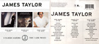 JAMES TAYLOR 3 Pak CD BOX : New Moon Shine/Never Die Young/That's Why I'm Here
