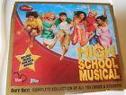 DISNEY HIGH SCHOOL MUSICAL TOPPS TRADING 100 GREAT CARDS IN BOX