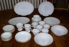 Assorted Anchor Hocking / Fire King GOLDEN SHELL Pattern Dinnerware Pieces