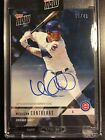 2018 Topps Now Wilson Contreras Cubs Road to Opening Day Auto Autograph 39 49