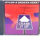 Mylon And Broken Heart Crank It Up CD Very Rare ( 1990 Star Song ) Christian