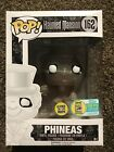 Funko Pop Haunted Mansion Phineas Glow SDCC 2016 LE 1000 Pieces #162 NIB.