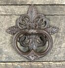 Cast Iron Celtic Style Vintage Brown Door Knocker, LIMITED QUANTITY
