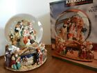 Kirkland NATIVITY musical water globe revolving base Joy to the World  mint