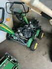 John Deere 200B Walk Behind Greens Mowers(2) and Trailer