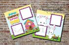 Easter Some Bunny 2 PRINTED Premade Scrapbook Pages Boy Girl Baby BLJgraves 10