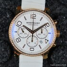 MONTBLANC TIMEWALKER ref 104283 43MM FACTORY DIAMOND RED GOLD 18K AUTO CHRONO