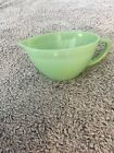 Vintage Fire King 4-cup Jade Green  Pitcher Bowl