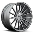 19 Niche Form M157 Charcoal Wheels fits Nissan 350 370 Infiniti G37 G35