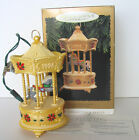 NIB UNUSED HOLIDAY CAROUSEL LIGHTS & MUSIC 1996 TOBIN FRALEY HALLMARK  ORNAMENT