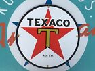 TEXACO classic 1936 LOGO top QUALITY porcelain coated 18 GAUGE steel SIGN