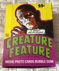 1980 Topps Creature Feature Unopened Wax Box of 36 Packs Superb Condition