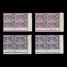 Great Britain 1960 MNH CEPT cylinder blocks all perf types